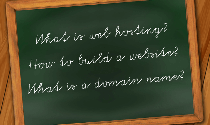 web hosting website building domain names